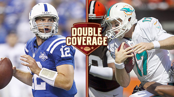Double Coverage: Dolphins at Colts