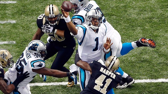Cam Newton's sheer size -- 6-foot-5, 245 pounds -- lessens any concerns about his durability.