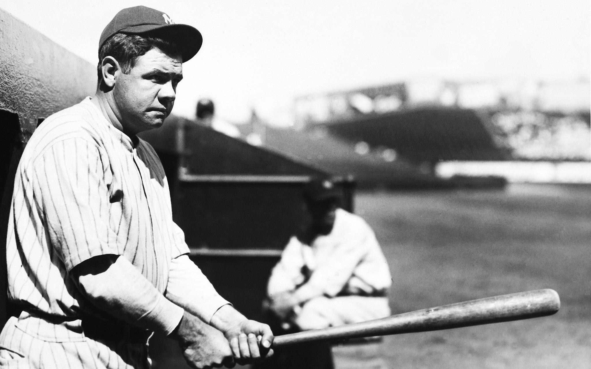 Babe Ruth, Yankees - 2 percent - Face of Baseball - ESPN Babe Ruth Yankees