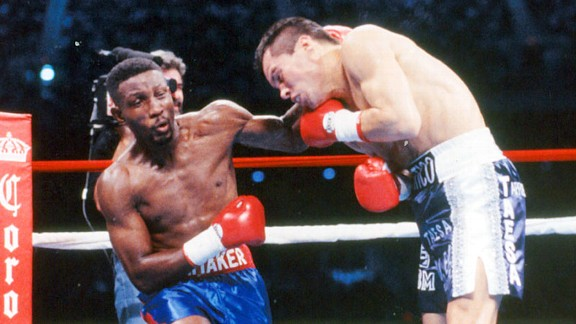 Pernell Whitaker and Julio Cesar