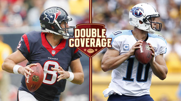 Matt Schaub and Jake Locker
