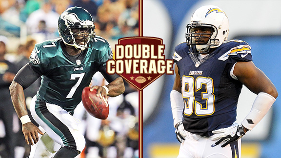 Double Coverage: Chargers at Eagles