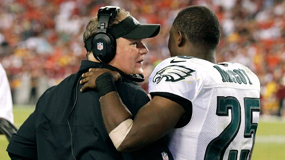Chip Kelly, LeSean McCoy