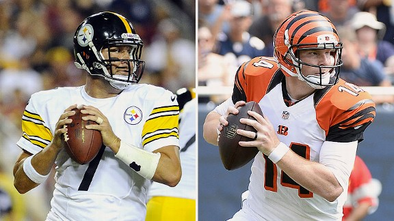 Ben Roethlisberger and Andy Dalton