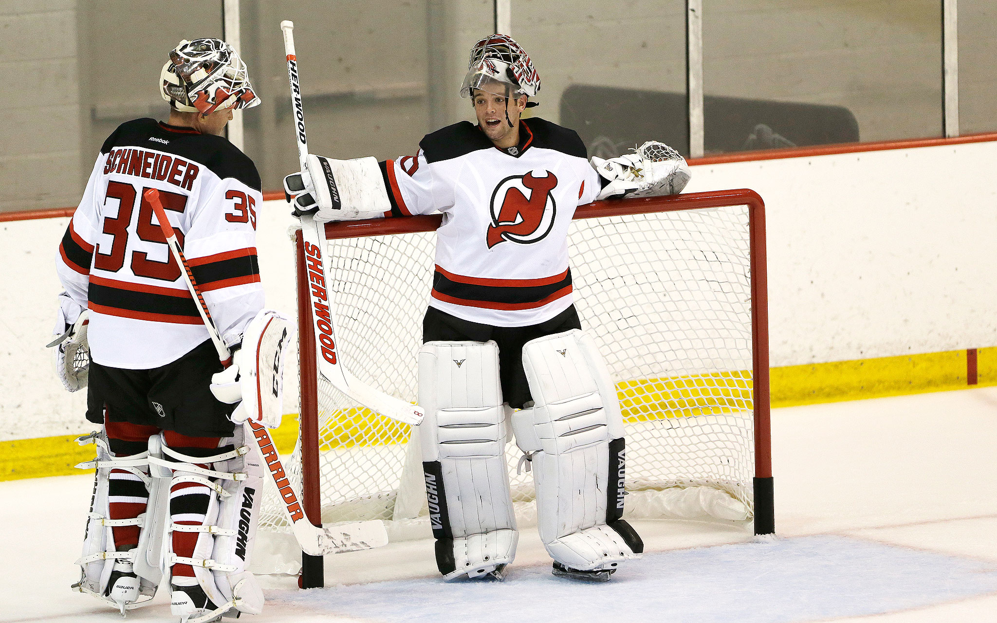 free shipping d38bf f0ab3 Cory Schneider in New Jersey - Same Faces, New Places - ESPN