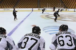 Bruins Practice