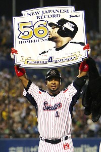 Balentien breaks Oh's Japan homer record