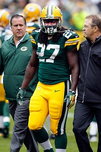 Packers rookie RB Lacy out with concussion