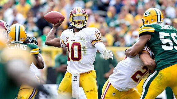 Redskins need a dynamic RG III