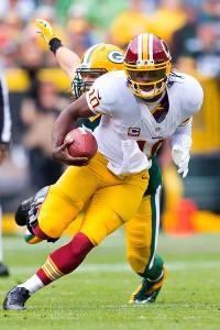 RG III ready to run more to provide 'spark'