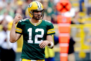 Green Bay's Aaron Rodgers