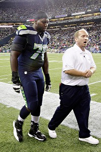 Seahawks to be without Okung vs. Jaguars