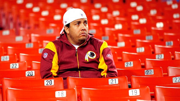Washington Redskins fan