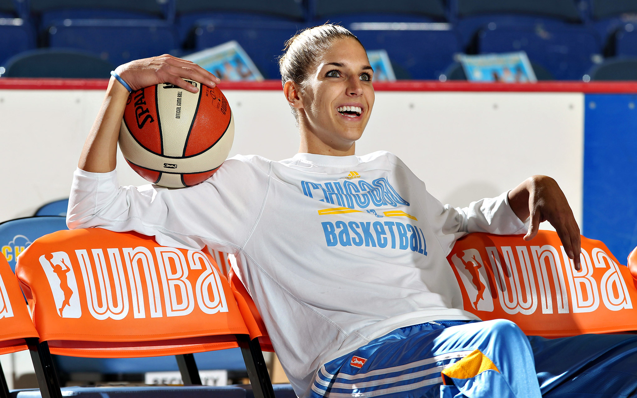 Elena Delle Donne, who swept the rookie of the month awards, says her first season in Chicago has seemed like a dream.