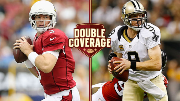 Double Coverage: Cardinals at Saints