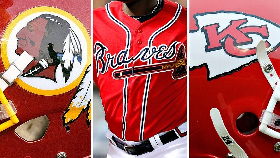 Redskins & Braves & Chiefs