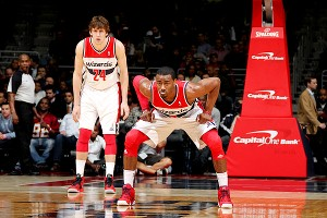 John Wall and Jan Vesely