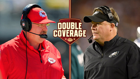 Double Coverage: Chiefs at Eagles