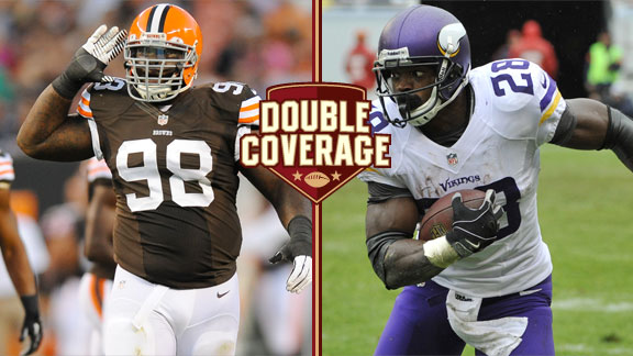 Phil Taylor, Adrian Peterson