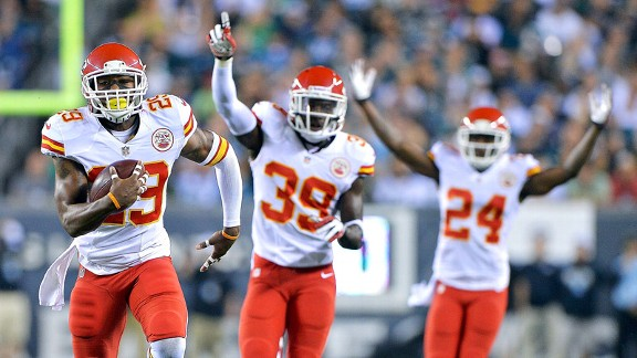 Chiefs defense stymies Eagles' attack