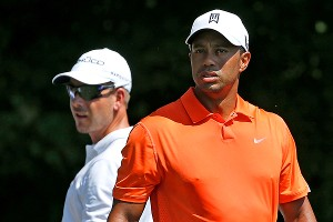 Tiger Woods and Henrik Stenson