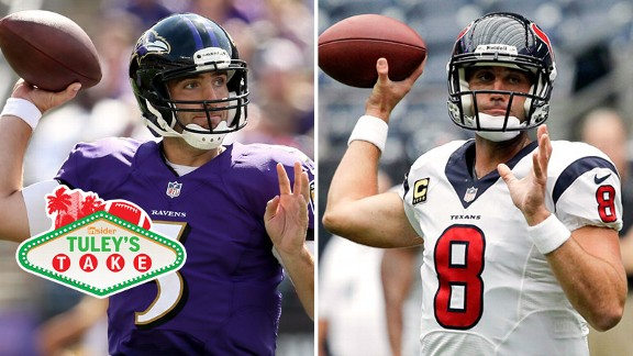 Joe Flacco, Matt Schaub