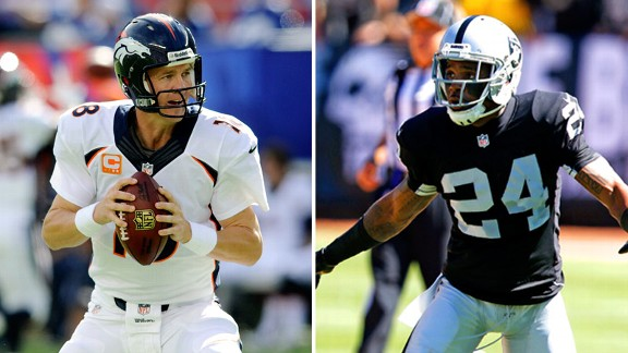Woodson, Manning share a history