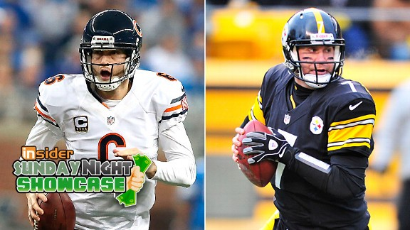 Jay Cutler and Ben Roethlisberger