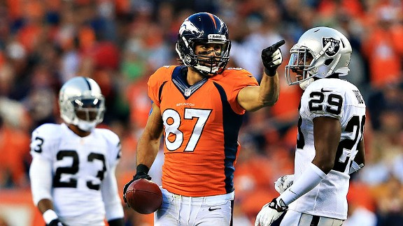 Broncos get down to AFC West business