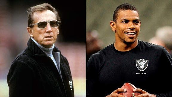Al Davis and Terrelle Pryor