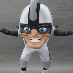 Raiders mascot