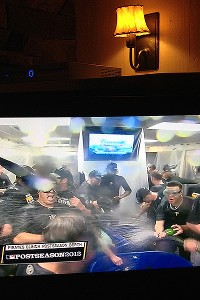 Pittsburgh Pirates celebrate
