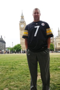 It was eye-opening to me to see so many fans, Steelers QB Ben Roethlisberger said of a publicity appearance in London back in July.