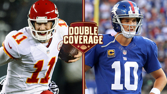 Alex Smith and Eli Manning