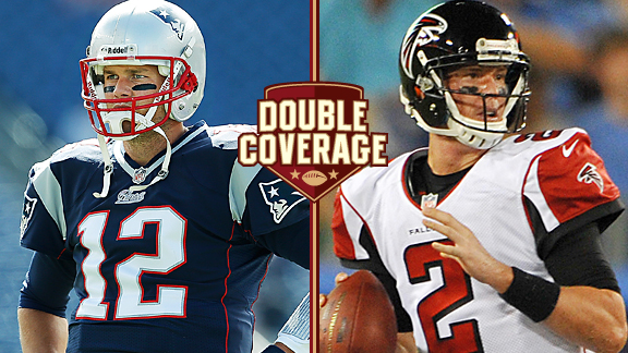 Double Coverage: Patriots at Falcons
