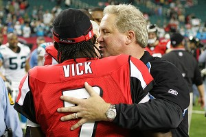 John Fox and Michael Vick