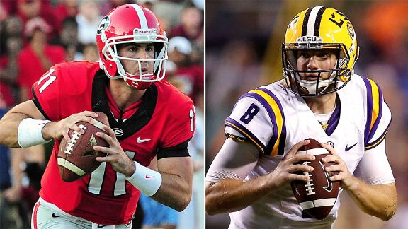 Aaron Murray, Zach Mettenberger