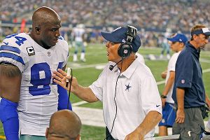 DeMarcus Ware and Rod Marinelli