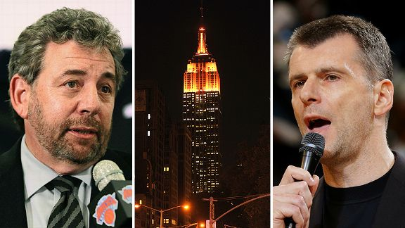 James Dolan, Empire State Building and Mikhail Prokhorov