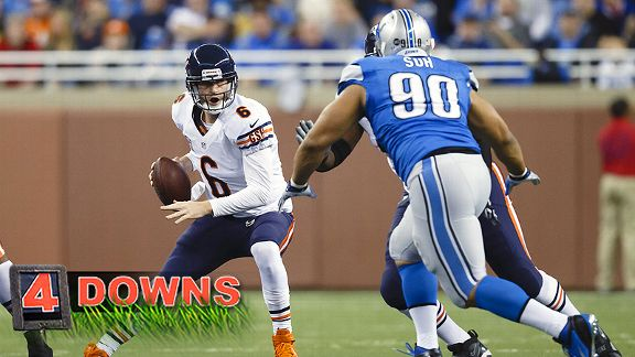 Four Downs: Suh to put Bears' line to test