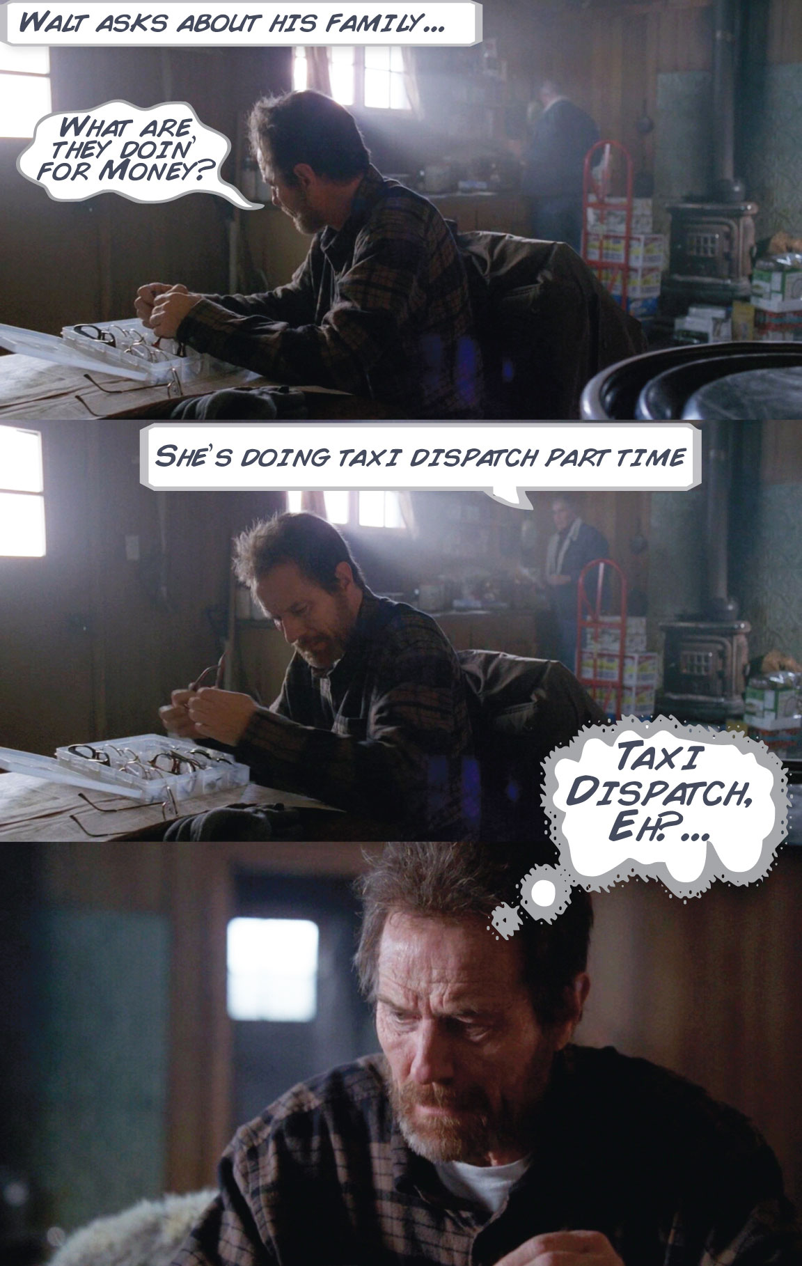 Walt, Breaking Bad Comic - Kirk Goldsberry/Grantland