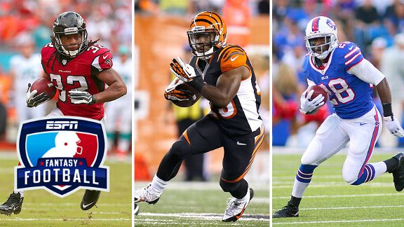 Jacquizz Rodgers, Gio Bernard and C.J. Spiller