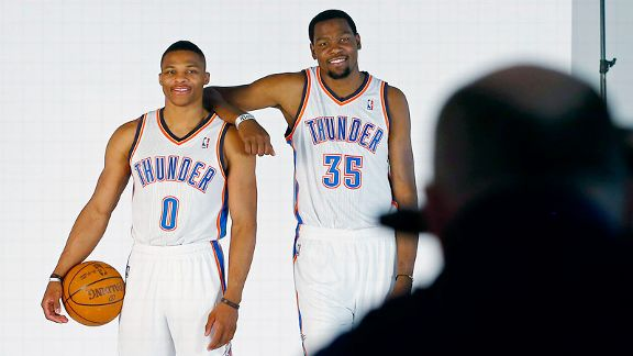 Russell Westbrook, Kevin Durant