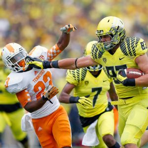 Oregon Ducks and Tennessee Volunteers