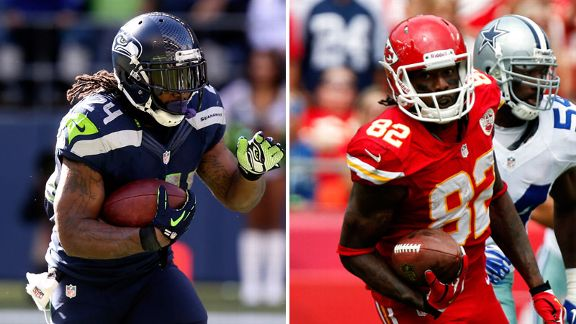Marshawn Lynch, Dwayne Bowe
