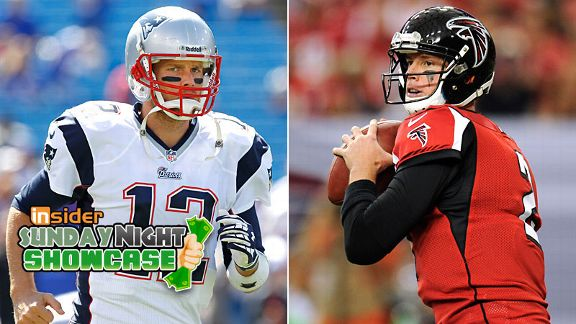 Tom Brady and Matt Ryan