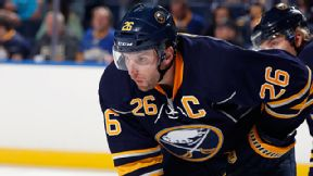 Thomas Vanek #26 of the Buffalo Sabres