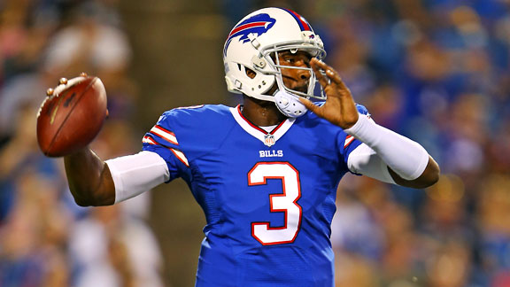 Buffalo Bills QB EJ Manuel's stats are off the charts -- ESPN The Magazine