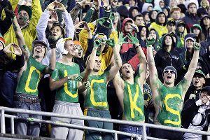 Oregon fans