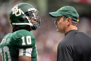 Art Briles and Robert Griffin III